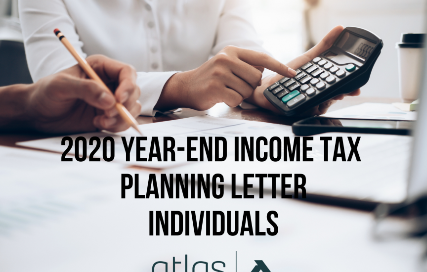 2020 Tax Planning Letter - INDIVIDUALS