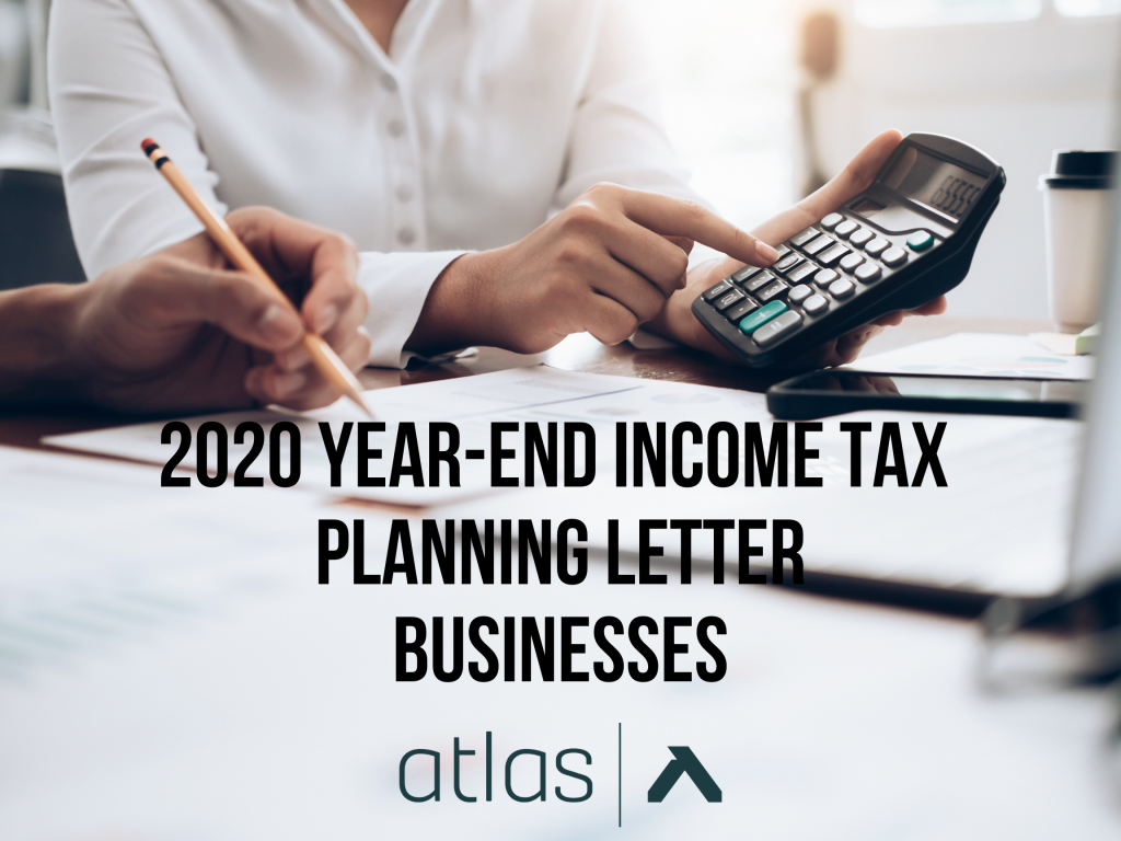 2020 Tax Planning Letter BUSINESSES